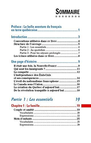 le parler quebecois pour les nuls guide de conversation 2e edition