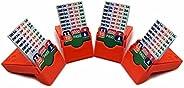 Bridge Bidding Boxes- Set of 4 Bridge Parter Premium Bridge Kit Bidding Device