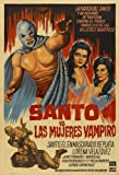 Samson vs. the Vampire Women POSTER Movie (27 x 40 Inches - 69cm x 102cm) (1962) (Mexican Style A)