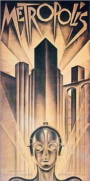 Posterlounge Alu Dibond 20 x 40 cm: Metropolis di Granger Collection
