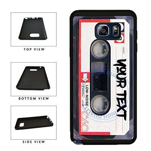 BleuReign(TM) Personalized Custom Name Mixtape Cassette TPU RUBBER SILICONE Phone Case Back Cover For Samsung Galaxy Note - Iphone Case Tape 4s Cassette