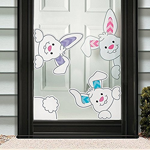 indow Cling Holiday Decorations (Easter Window)