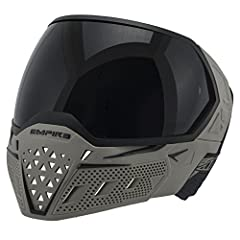 EVS FEATURES Improved Lens System Quick and simple, tool-free lens replacement Amazing Field Vision Distortion free spherical lens with 270-degree field of vision ASTM Safety ASTM approved mask provides maximum eye protection Durable and Prot...