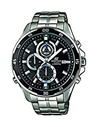 Casio Men's Edifice EFR547D-1AV Silver Stainless-Steel Quartz Watch