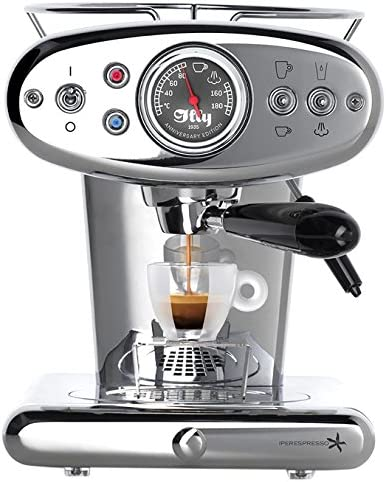Francis Francis. Máquina de café espresso Cápsulas Iperespresso x1 Anniversary, 1.0 L acero: Amazon.es: Hogar