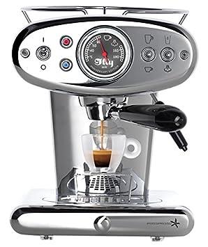 Máquina de café espresso Cápsulas Iperespresso x1 Anniversary, 1.0 L acero: Amazon.es: Hogar