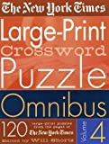 The New York Times Large-Print Crossword Puzzle Omnibus, New York Times Staff, 0312305141