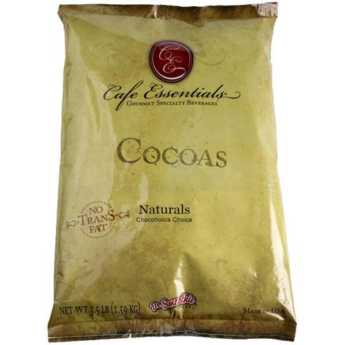 Dr. Smoothie Hot Chocolate and Cocoa Cafe Essentials NATURALS Chocoholics Choice by Dr. Smoothie