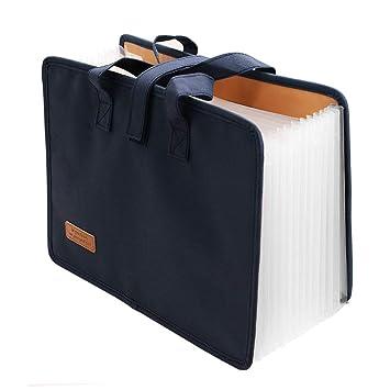 Carpeta Archivadora Acordeon, Carpeta para Documentos A4, Archivador Carpeta, Carpeta Clasificadora para Uso de Oficina y Escuela (12 bolsillos): Amazon.es: ...