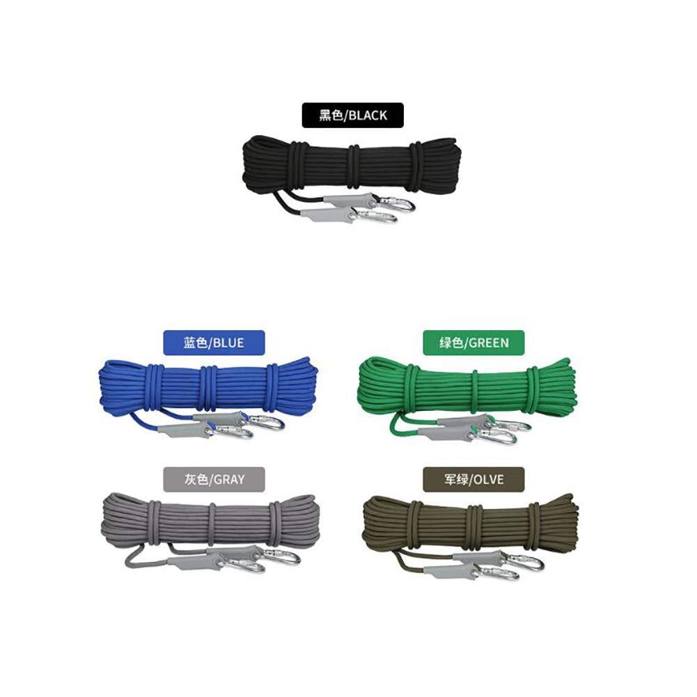 WYX Kletterseil 8mm  9.5 9.5 9.5 Millimeter-Durchmesser Mutil-Gebrauch Hauptkabel-Fachmann-kletternde Hilfsmittel-Seil Rappelling Abseiling-Seil Outdoor8KN   12KN Entweichen-Hochwiderstand-Seil Outdoor B07MTCXVWV Bergseile Förderung eccc94