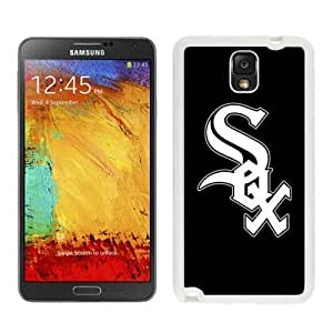 Samsung Galaxy Note 3 Cover Case,Baseball Chicago White Sox White Cool Customized Samsung Galaxy Note 3 Case