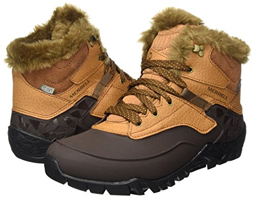 Ice High Zapatos merrell Para Waterproof Merrell Beige Senderismo Tan De Tan Rise Aurora 6 Mujer ExqUwYUBS