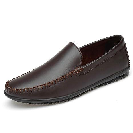 Hongjun-shoes, Hombres Que conducen los Holgazanes, Mocasines de Barco Suave cómodos clásicos