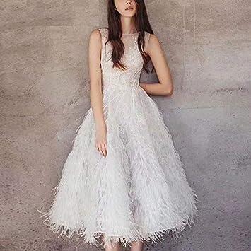 QUNLIANYI Vestidos Mujer Casual Verano Largo Falda Elegante ...