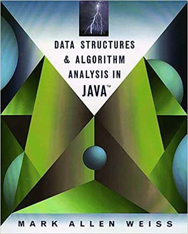 mark allen weiss data structures and algorithm analysis in java solution manual