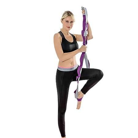 OhLt-j Correa de yoga: correas de ejercicio duraderas de ...
