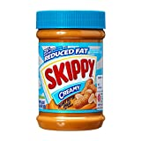 Skippy Peanut Butter, Reduced Fat Creamy, 16.3-Ounce Jars (Pack of 6)