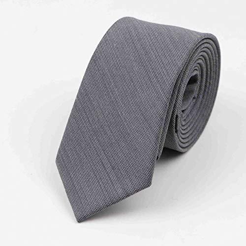 WOXHY Commercial Luxury 100% Tie Classical Color Black Grey Necktie Mens Fashion Neckties Designer Handmade European Style Ties