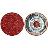 Norton 08834163320 Power Sander Quick Change Discs Size 9/16 120 Grit