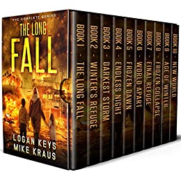 The Long Fall Box Set: The Complete Long Fall Series - Books 1-10 by [Keys, Logan, Kraus, Mike]