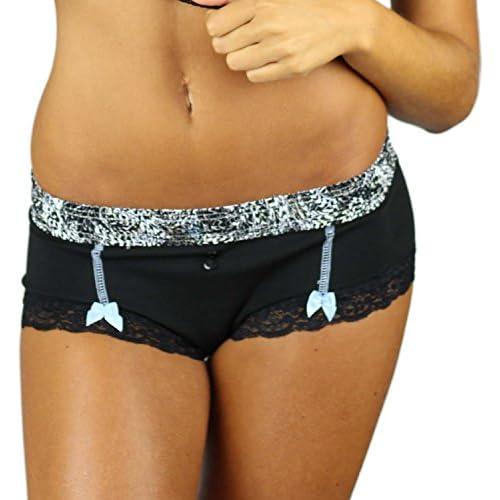 91a5a4097eae XS-XXL Foxers Cheeky Womens Cotton Boyshort Underwear Cute Boxer Brief  Panties Panties