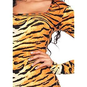 - 51FRYlTUU7L - Leg Avenue Women's 2 Piece Wild Tigress Costume