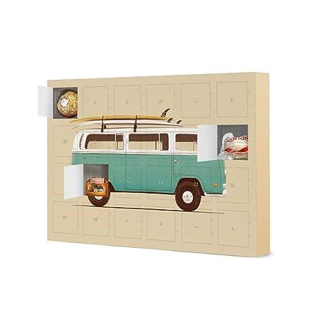 Coole Weihnachtskalender.Artboxone Advent Calendar Blue Van Camper Van Journey By Florent