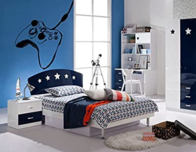 Wall Decal Sticker Bedroom Controller Xbox Playstation Video Games Boys Teenager Room 380b