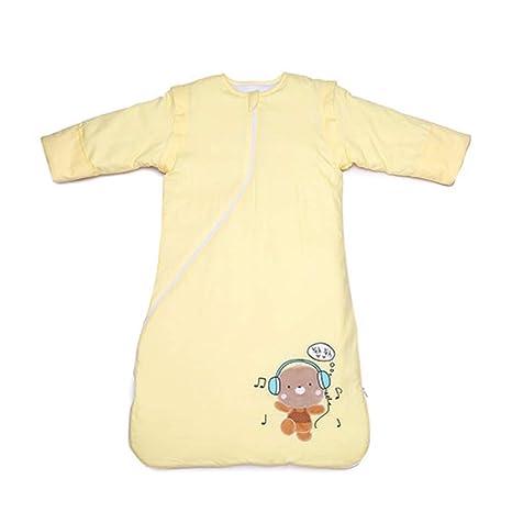 Saco de dormir Xiuyun algodón para bebés Grueso de Invierno para el bebé Anti-Kick (Color : Pink, Tamaño : 90cm): Amazon.es: Hogar