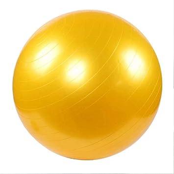 SPFAZJ Pilates Ball - - Balón de Ejercicio, Color Azul Amarillo ...