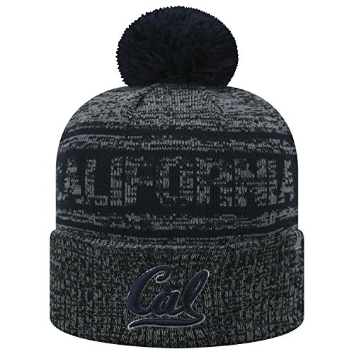 Top of the World Cal Bears Official NCAA Cuffed Knit Sockit to Me Stocking Stretch Sock Hat Cap 467818