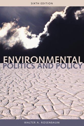 Environmental Politics and Policy (Environmental Politics & Policy)