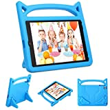 PC Hardware : Gogoing iPad 9.7 2018 2017/iPad Air 2/iPad Air Kids Case - Light Weight Shockproof Cover Case with Carrying Handle Stand for New Apple iPad 9.7, iPad air 2/1, iPad 6th/5th Gen(Blue)