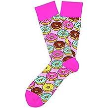 Two Left Feet Novelty Crew Sock, Go 4 Do-Nut