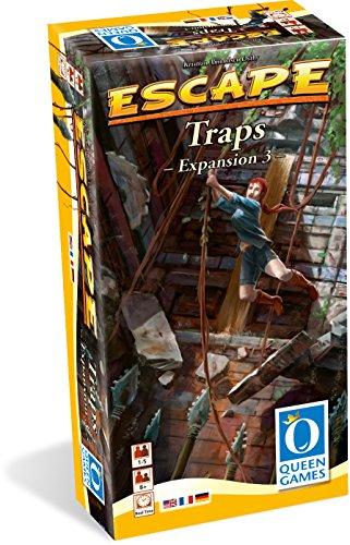 Queen Games 10082 -  Escape Erweiterung 3: Traps, Aktionsspiele