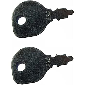 2 ignition switch keys for indak 691959. Black Bedroom Furniture Sets. Home Design Ideas