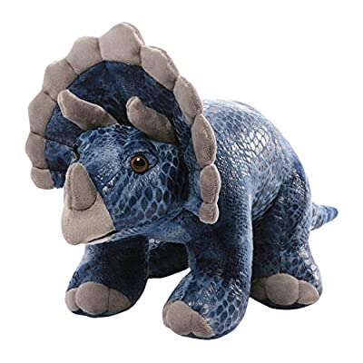 "GUND Diesyl Triceratops Dinosaur Stuffed Animal Plush, Blue, 14"": Toys & Games"