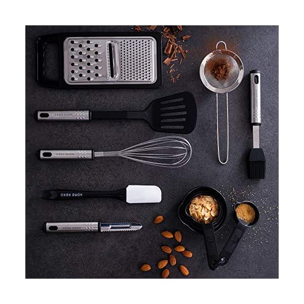 Home Hero Kitchen Utensil Set Cooking Utensils Set - Nylon Kitchen Utensils Set Kitchen Tool Set 44 Pcs. Cooking Utensil… 7