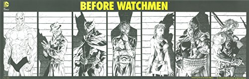 BEFORE WATCHMEN Limited Edittion Jim Lee LITHOGRAPH Poster from FANEXPO 2012 Exlusives Includes Fanexpo Certificate of Authenticity.