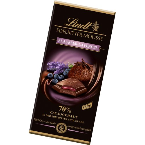 Lindt Blueberry Lavender 70% Dark Chocolate Mousse Bar Chocolate Mousse Bar