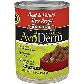AvoDerm Natural Grain-Free Beef & Potato Stew