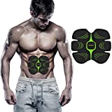 Fitpad Abdominal Toning Belt,Weight Loss Belt, ABS Toner Body Muscle Trainer Lazy Man Electrical Muscle Stimulation(EMS) Exercise Equipment-(Abdomen1)