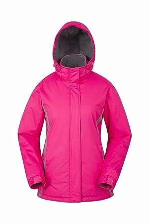 YG Chaqueta de Esquí para Mujer: Resistente Al Agua, Puños Ajustables, Falda para