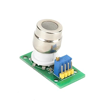 CO2 Gas Carbon Dioxide Sensor Module, MG811 Arduino Carbon Dioxide Sensor Detector TTL Level with Analog Signal Output Temperature Compensation Output ...