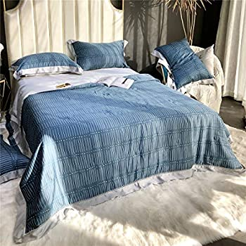 Image of Home and Kitchen Becozy 100% Tencel Lyocell Blankets Natural Organic Silky Soft 60S Tencel Bedding Summer Quilt Breathable Thin Comforter Breathable Anti-Bacterial Washable (7, King)