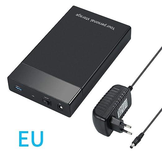winnerruby - Caja para Discos Duros externos USB 3.0 de 3,5 ...