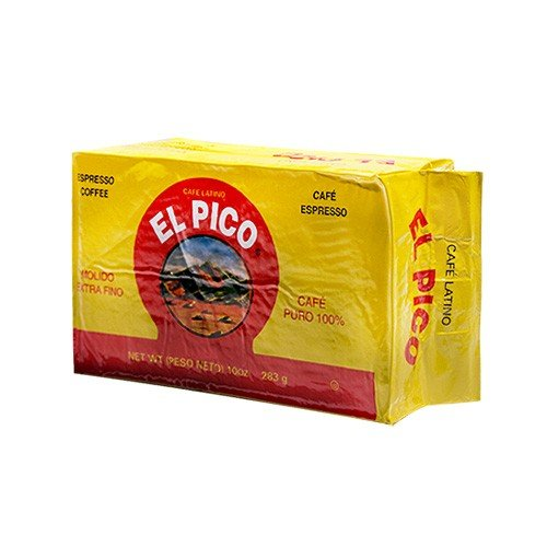 El Pico, Coffee Brick Pack, 10 OZ (Pack of 12) by Rowland Coffee Roasters