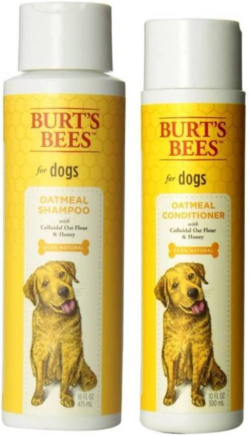 Burt's Bees For Dogs Dry Skin Shampoo & Conditioner Bundle