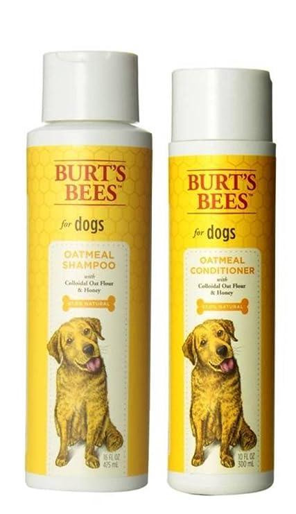 Burt 's Bees para perros Champú y Acondicionador de piel seca Bundle: (
