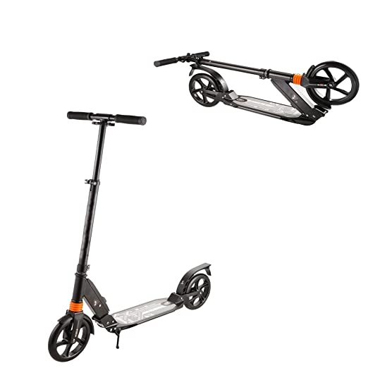 Amazon.com: Patinete plegable para adultos, 2 ruedas, 3 ...